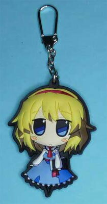 Touhou Project - Akaneya Rubber Keychain: Alice(Released)(東方プロジェクト 茜屋ラバー・キーホルダー アリス 単品)