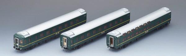 HO-093 JR 24系25形特急寝台客車(トワイライトエクスプレス) 増結セットB(再販)[TOMIX]【送料無料】《06月予約》