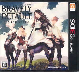 3DS Bravely Default: For the Sequel(Released)(3DS ブレイブリーデフォルト フォーザ・シークウェル)