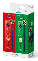 Wiiリモコンプラスセット (マリオ・ルイージ)[任天堂]《在庫切れ》