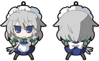 Touhou Project - Akaneya Rubber Keychain: New Sakuya(Released)(東方プロジェクト 茜屋ラバー・キーホルダー 新咲夜)