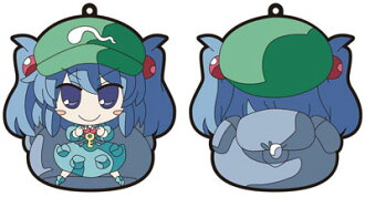 Touhou Project - Akaneya Rubber Keychain: Nitori(Released)(東方プロジェクト 茜屋ラバー・キーホルダー にとり)