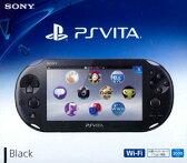 PlayStation Vita Wi-Fiモデル ブラック[SCE]【送料無料】《発売済・在庫品》