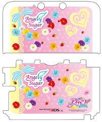 3DS LL用 アイカツ! カスタムハードカバー Angely Sugar[プレックス]《12月予約》