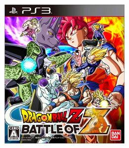 PS3 【初回封入特典付】ドラゴンボールZ BATTLE OF Z[バンダイナムコゲームス]《01月予約》