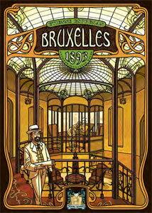 ホビージャパン特選ボードゲーム ブリュッセル1893 (Bruxelles 1893) 日本語訳ルール付属[Z-MAN...