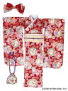 48/50cm 50着物set-はなこよみ- 濃紅 (ドール用衣装)[アゾン]《発売済・在庫品》