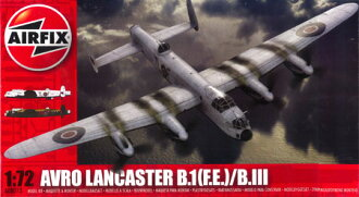 1/72 アブロランカスターBI(F.E.)/III プラモデル(1/72 Avro Lancaster BI(F.E.)/III Plastic Kit(Back-order))