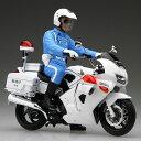 1/12 バイクシリーズ SPOT Honda VFR800P 白バイ 白バイ隊員 フィギュア付 プラモデル(再販)[フジミ模型]《取り寄せ※暫定》