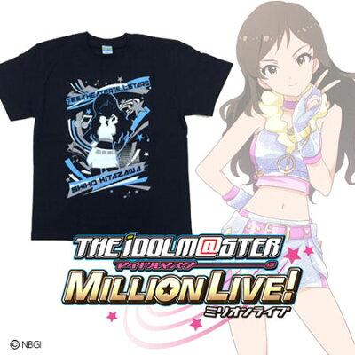 アイドルマスター ミリオンライブ! VIVID SHADOW Tシャツ 北沢志保-XL[バンダイ]《05月予約》