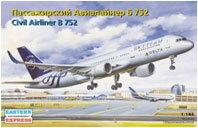 イースタン・エキスプレス 1/144 ボーイング757-200 デルタ航空 プラモデル[GSIクレオス]《10月...