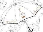 「前略、大徳さん」 オリジナルビニール傘 ゴールド[伊藤商店]《取り寄せ※暫定》