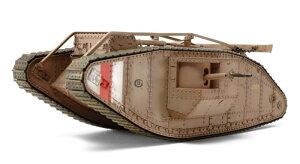 1/35 戦車シリーズ(シングル)No.57 WWI イギリス戦車 マークIV メール(シングルモーターライ...