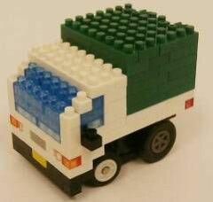 nanoblock motion チョロQ 2.軽トラック[タカラトミー]《09月仮予約》