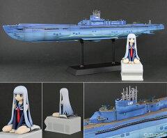 ぺあどっと 1/350 蒼き鋼のアルペジオ -アルス・ノヴァ- 潜水艦 イ401 with イオナ 塗装済み完...