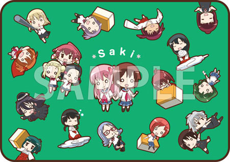 咲-Saki-全国編 ブランケット (SDキャラ集合柄)[あみあみ]《取り寄せ※暫定》