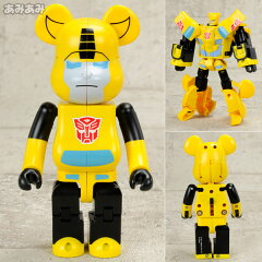 BE@RBRICK No.B@-000TF02 BE@RBRICK × TRANSFORMERS BUMBLEBEE[メディコム・トイ]《08月予約》