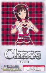 Chaos TCG トライアルデッキ アイドルマスター ワンフォーオール 4パック入りBOX[ブシロード]《...