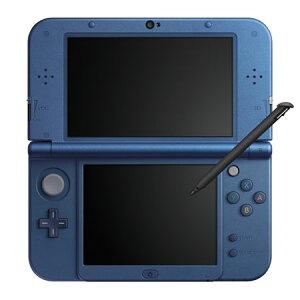 Newニンテンドー3DS LL 本体 メタリックブルー[任天堂]《発売済・在庫品》