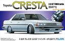 1/24 インチアップシリーズ No.178 トヨタ クレスタ 2.0 GTツインターボ GX71(窓枠マスキングシール付) プラモデル[フジミ模型]《取り寄せ※暫定》