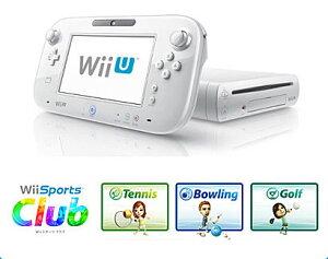 Wii U すぐに遊べる スポーツプレミアムセット(Shiro)[任天堂]《取り寄せ※暫定》