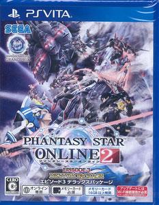 PS Vita ファンタシースターオンライン2 エピソード3 デラックスパッケージ[セガ]《03月予約》
