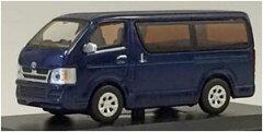 京商オリジナル 1/64 トヨタ ハイエース(ブルー)[京商]《発売済・在庫品》