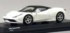 京商オリジナル 1/64 フェラーリ 458 スペチアーレ(ホワイト)[京商]《02月仮予約》