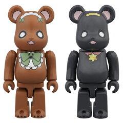 BE@RBRICK(ベアブリック) ユリ熊嵐 2パック[メディコム・トイ]《05月予約※暫定》