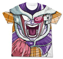 ドラゴンボール改 フリーザ フルグラフィック Tシャツ/ホワイト-S[コスパ]《05月予約》