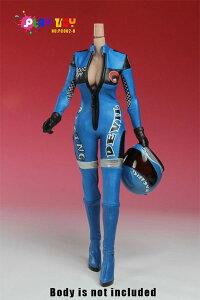 1/6スケール コスチュームセット レーシングスーツ ブルー(PC002-B)[PLAY TOY]《発売済・在庫品》