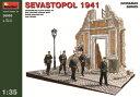 1/35 ジオラマベース5(セヴァストポリの戦い)(再販)[ミニアート]《取り寄せ※暫定》