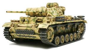 1/48 ミリタリーミニチュアシリーズ ドイツIII号戦車L型 プラモデル[タミヤ]《04月予約》