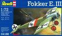 1/72 フォッカー E-III プラモデル[ドイツレベル]《取り寄せ※暫定》