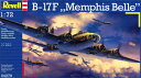"1/72 B-17F ""メンフィスベル"" プラモデル[ドイツレベル]《取り寄せ※暫定》"