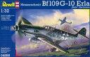 1/32 メッサーシュミット Bf109G-10 Erla プラモデル[ドイツレベル]《取り寄せ※暫定》