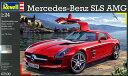 1/24 メルセデス SLS AMG プラモデル[ドイツレベル]《取り寄せ※暫定》