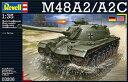 1/35 M48 A2/A2C プラモデル[ドイツレベル]《発売済・在庫品》