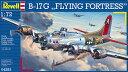 1/72 B-17G フライングフォートレス プラモデル[ドイツレベル]《取り寄せ※暫定》