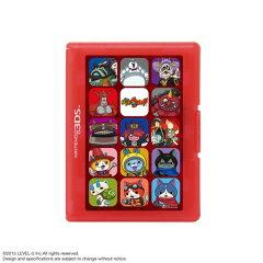 妖怪ウォッチ カードケース12 for ニンテンドー3DS レッド[レベルファイブ]《07月予約》