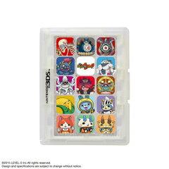 妖怪ウォッチ カードケース12 for ニンテンドー3DS ホワイト[レベルファイブ]《07月予約》