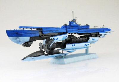 蒼き鋼のアルペジオ -アルス・ノヴァ- No.14 1/350 潜水艦 蒼き鋼イ401 プラモデル[アオシマ]《発売済・在庫品》