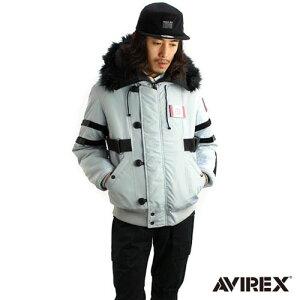 シドニアの騎士×AVIREXコラボN2Bフライトジャケット グレー XL[ACG]【送料無料】《10月予約》