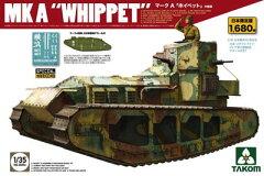 1/35 WWI マーク A ホイペット 中戦車(日本限定版) プラモデル[TAKOM]《在庫…