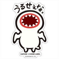 CAPCOM×B-SIDE LABELステッカーL モンスターハンター うるせぇな。[B-SIDE LABEL]《09月予約※...