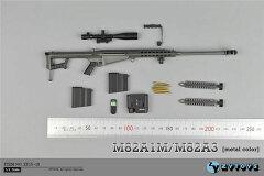 1/6 バレットM82A1M スナイパーライフル (メタルブラック)[ZY-TOYS]《取り寄…