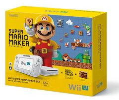Wii U スーパーマリオメーカー セット[任天堂]【送料無料】《発売済・在庫品》