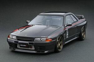 1/18 ニスモ R32 GT-R S-tune ガングレーメタリック[イグニッションモデル]《在庫切れ》