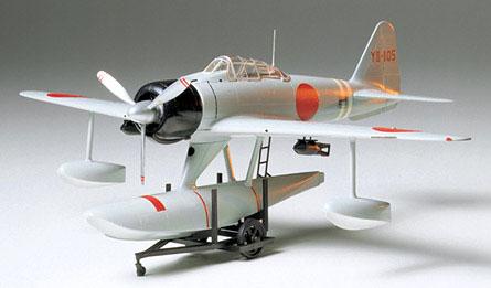1/48 傑作機シリーズ No.17 日本海軍 二式水上戦闘機 (A6M2-N) プラモデル[タミヤ]《取り寄せ※暫定》