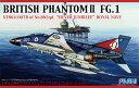 1/72 Fシリーズ No.59 ブリティッシュ ファントムII FG.1 シルバージュビリー プラモデル(再販)[フジミ模型]《取り寄せ※暫定》